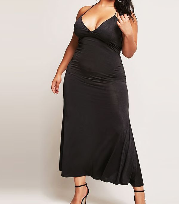Plus Size Cami Mermaid Gown