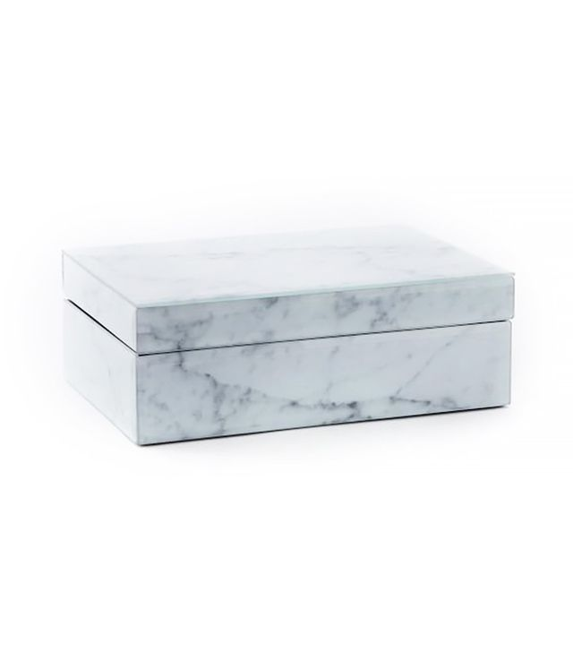 West Elm Marble Decoupage Box