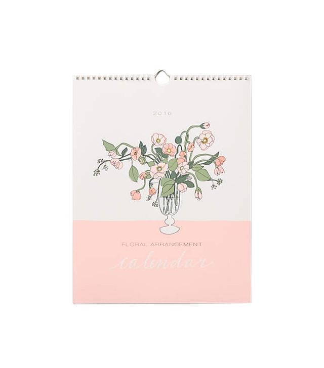 Hartland Brooklyn Bouquets for Days 2016 Calendar