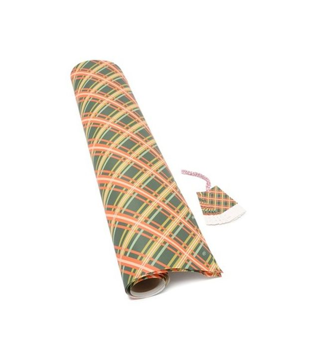 Rifle Paper Co. Holiday Plaid Wrapping Paper and Gift Tags