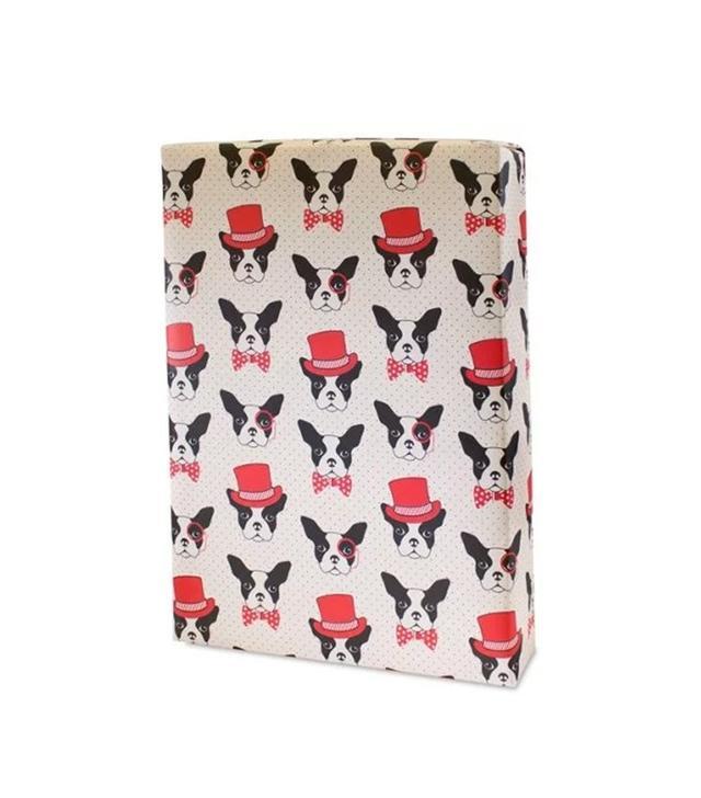 Elum Boston Terrier Gift Wrap Sheets