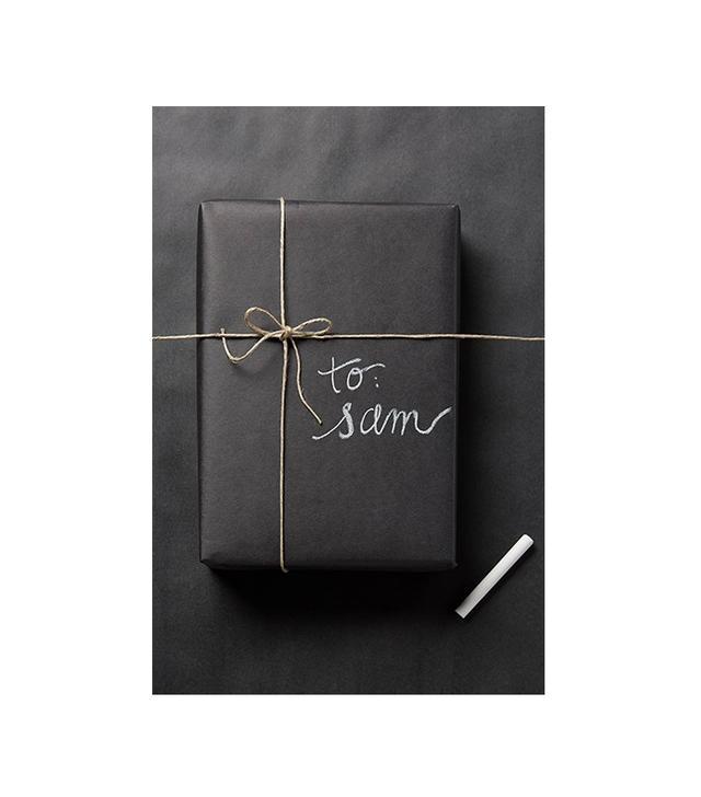 Knot & Bow Chalkboard Gift Wrap