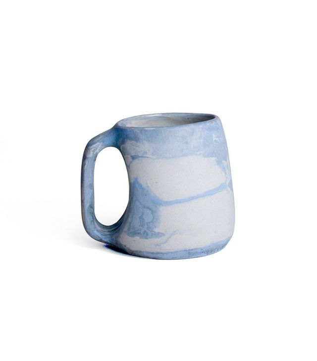 Leah Ball Colorful Day-Night Marbled Porcelain Mug