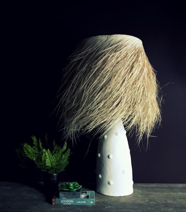Abigail Ahern Shaggy Palm Lamp