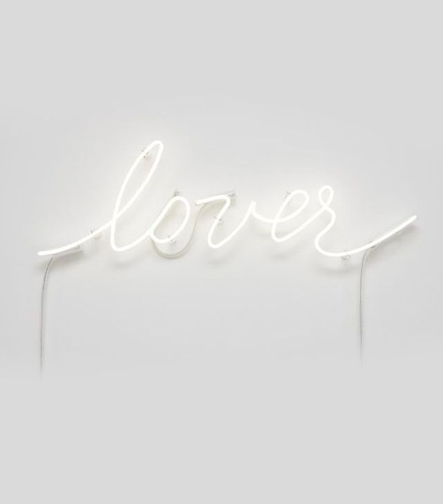 Lover Neon Sculpture by Pascale Marthine Tayou