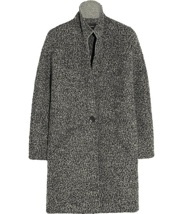 Isabel Marant Daryl Oversized Boucle Coat