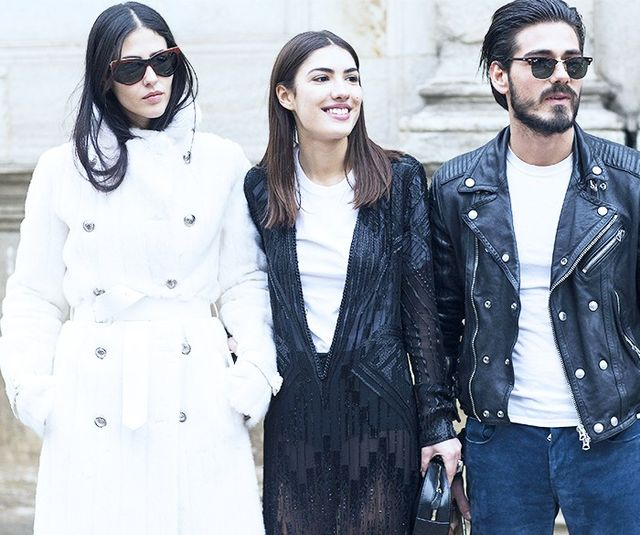 On Gilda Ambrosio: Fendi coat. Shop similar white coatsto Gilda's.