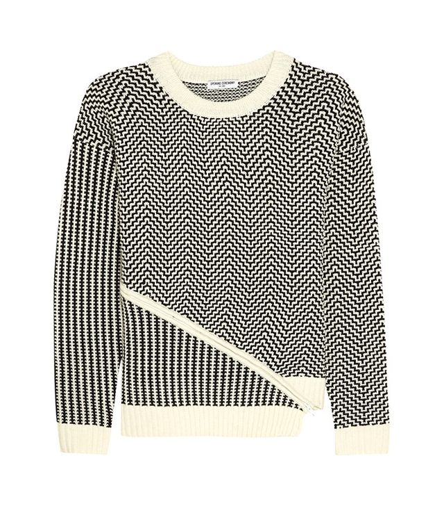 Opening Ceremony Asymetric Knitted Sweater