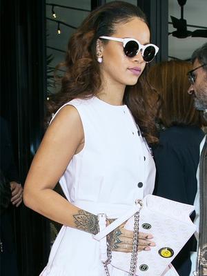 Rihanna's Puma Collection Hits New York Fashion Week!