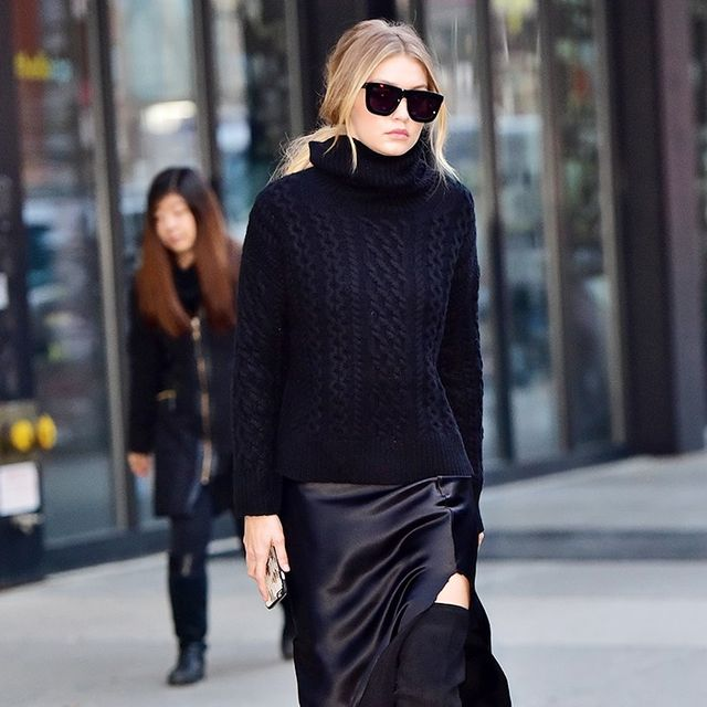 Gigi Hadid's Skirt Is Perfect for the Holiday Season