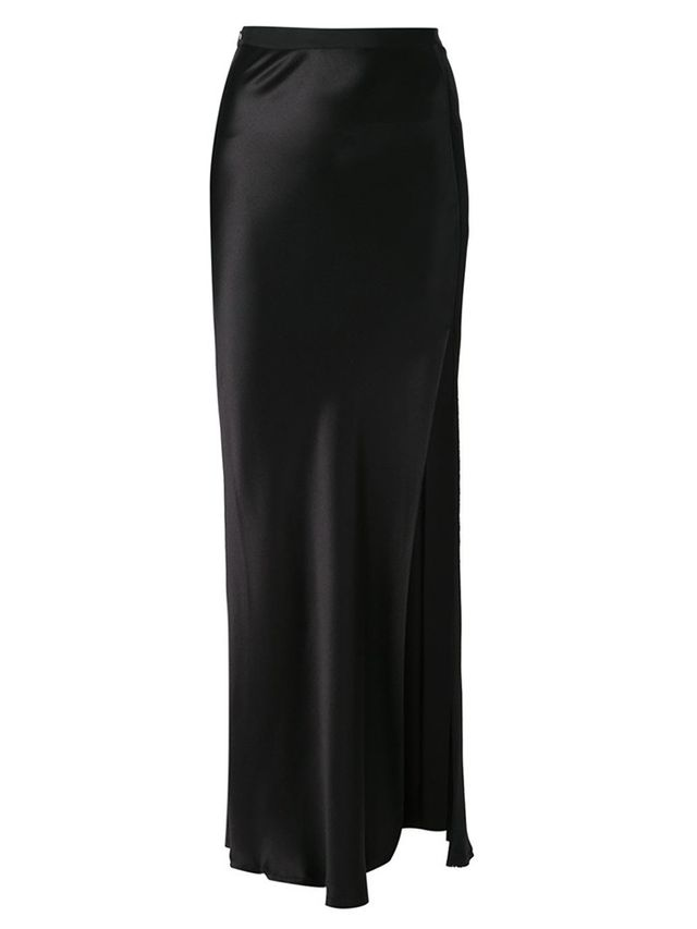 Nili Lotan Side Slit Maxi Skirt