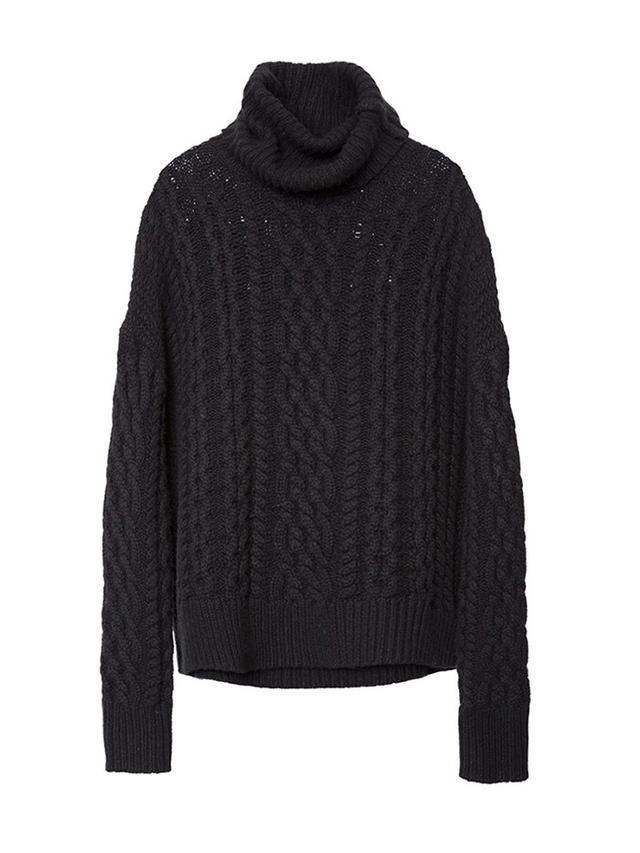 Nili Lotan Aran Cashmere Turtleneck Sweater