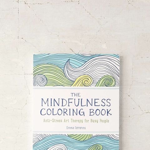 The Mindfulness Coloring Book by Emma Farrarons