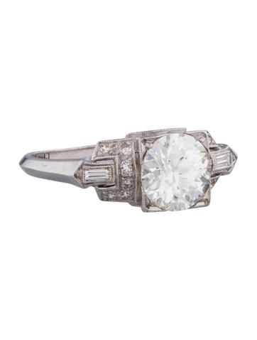 Fine Jewelry Art Deco Diamond Engagement Ring