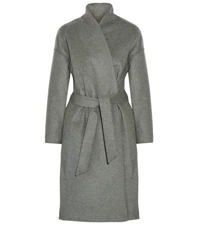 Toteme Chelsea Belted Wool-Blend Felt Coat
