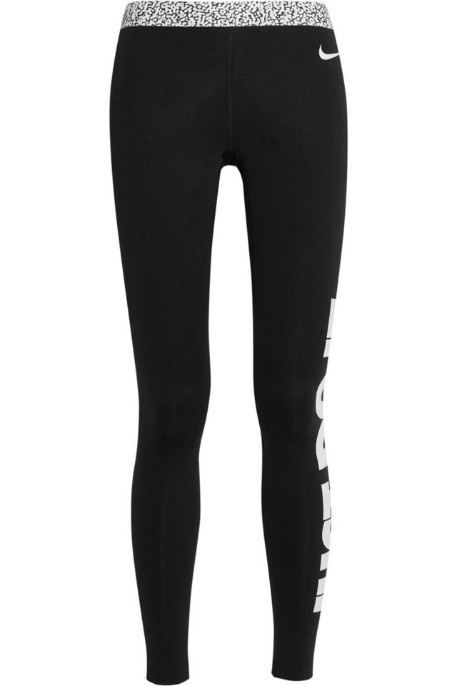 Nike Pro Warm Mezzo Stretch-Jersey Leggings