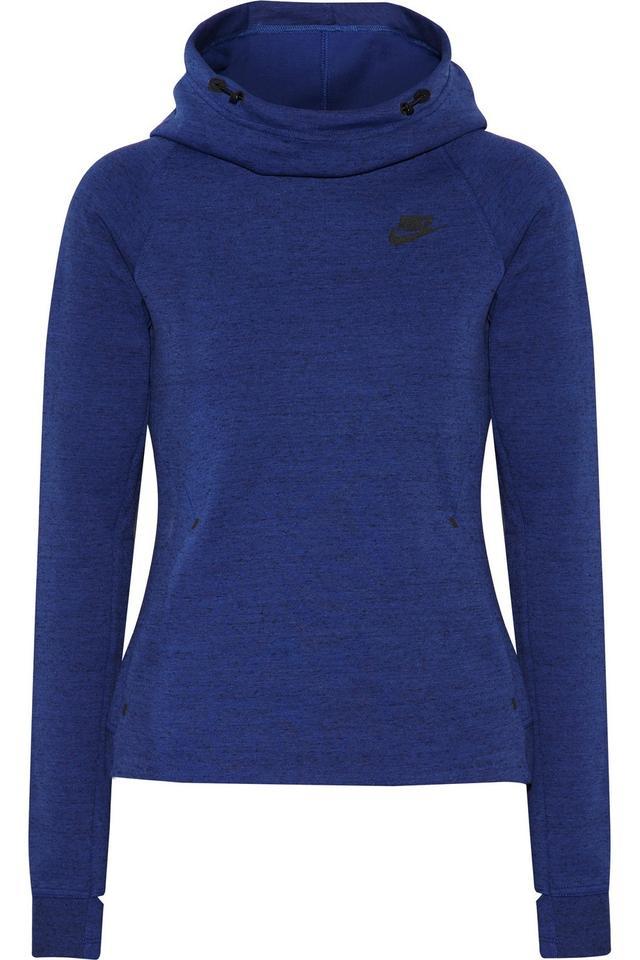Nike Tech Fleece Cotton-Blend Hooded Top