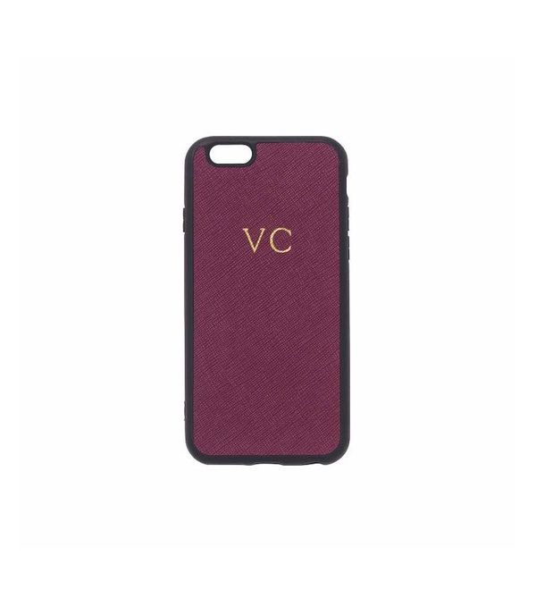 The Daily Edited Leather iPhone Case