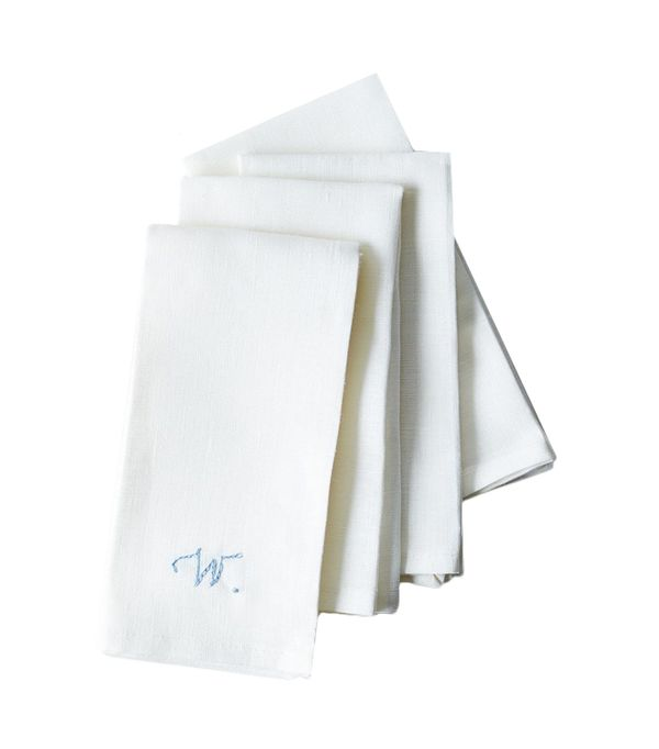 Food52 White Linen Napkins