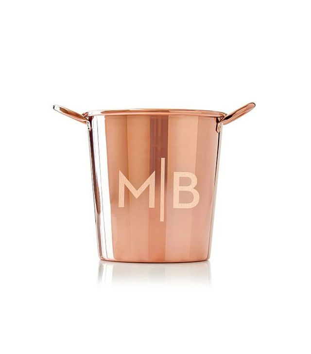 Mark and Graham Copper Ice Bucket