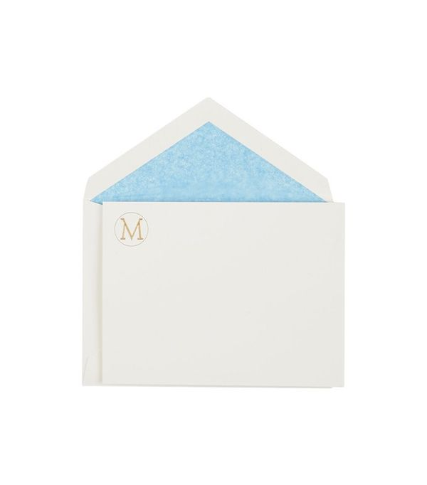 Connor Monogram Notecard Set