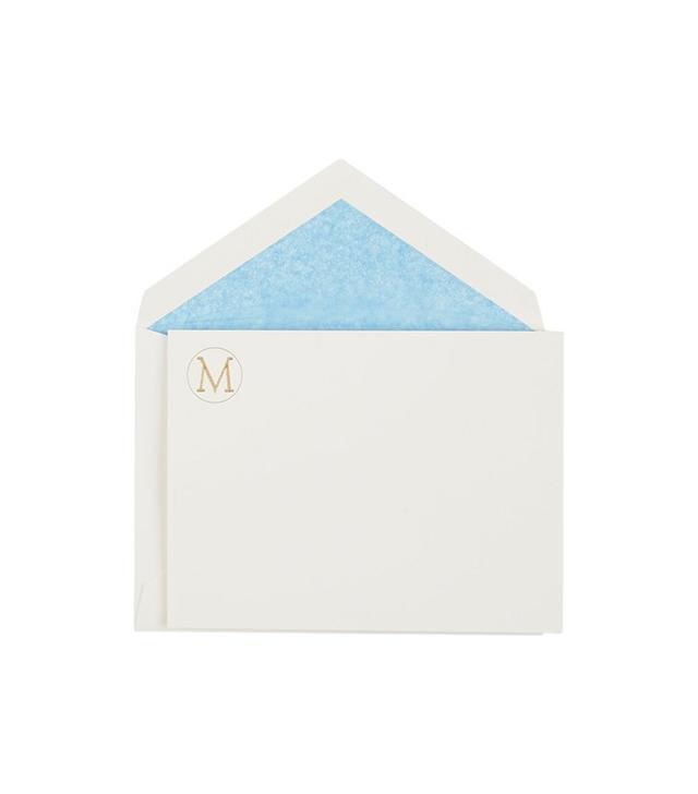 Connor Monogram Letter Stationery Set