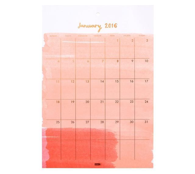 kikki.K 2016 Wall Calendar