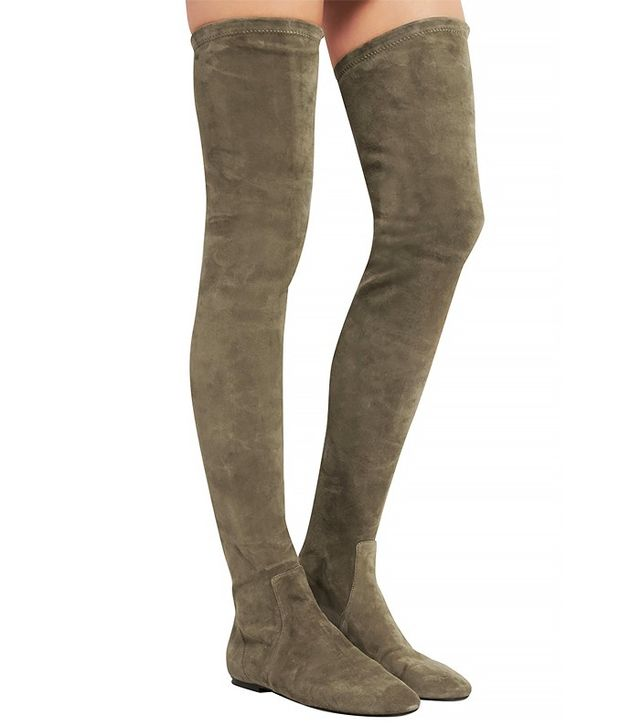 Isabel Marant Étoile Brenna Suede Over-the-Knee Boots