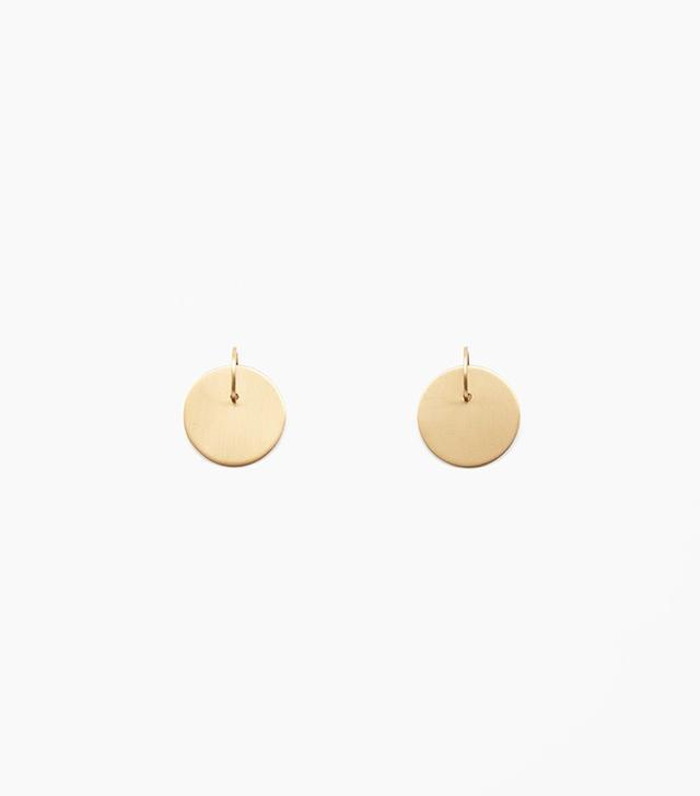 COS Disk Earrings