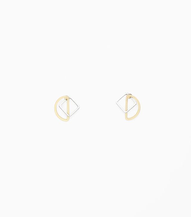 COS Contrast Shape Earrings