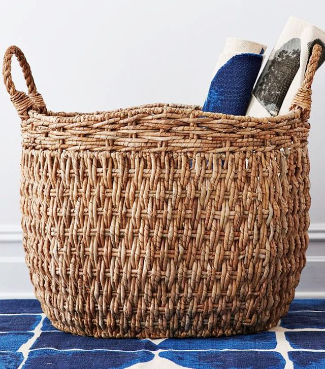 West Elm Oversized Seagrass Basket
