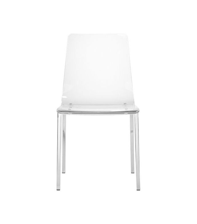 CB2 Vapor Acrylic Chair