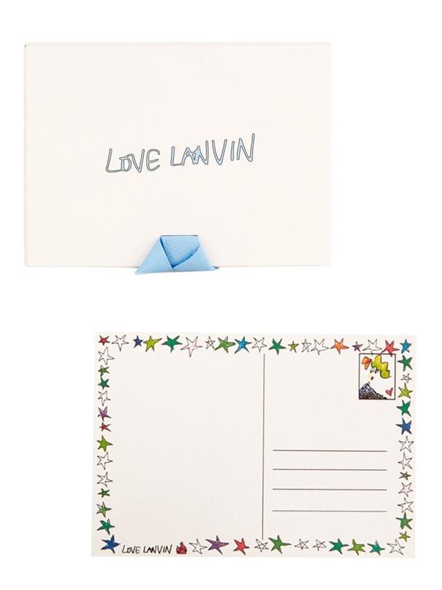 Lanvin Alber Four Girls Set of 10 Cards