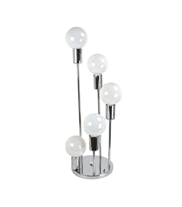 Uptown Found Vintage Chrome Graduated 5-Bulb Table Lamp