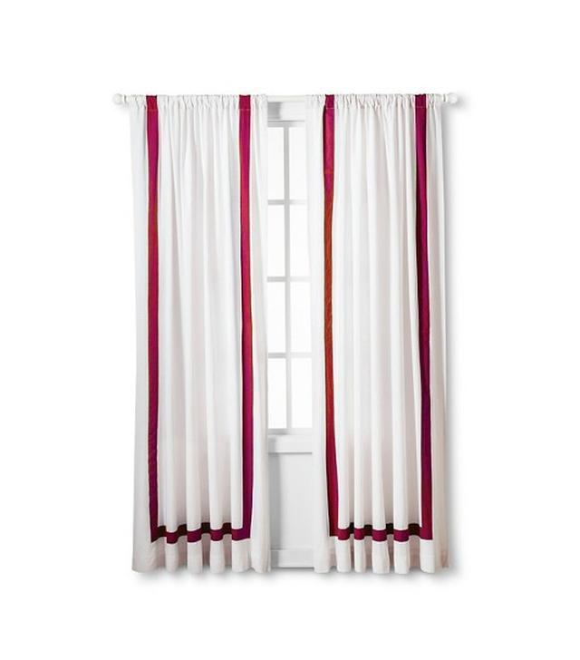 Target Hotel Stripe Light Blocking Window Panel