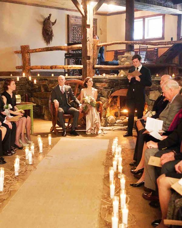 See all of Jennifer Vander Veer and Tyler Wren's wedding photos.