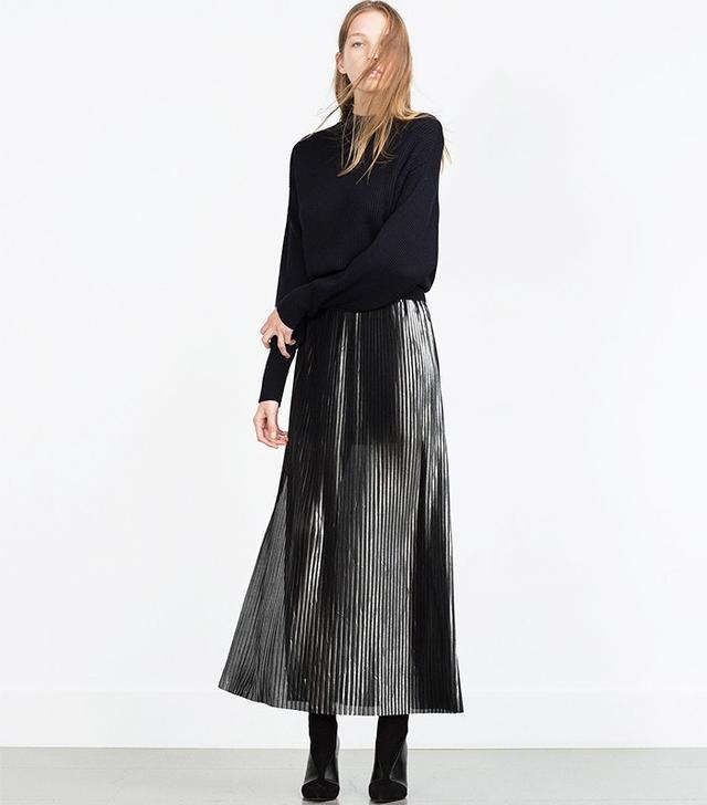 Zara Accordion Pleated Skirt