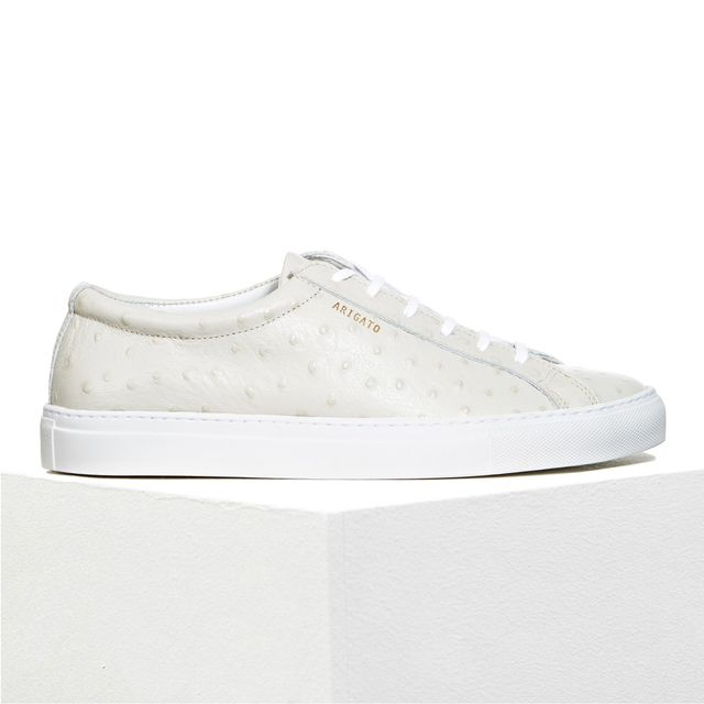 Axel Arigato Ostrich Embossed Sneakers