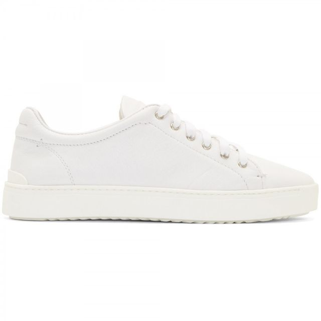 Rag & Bone White Leather Kent Sneakers