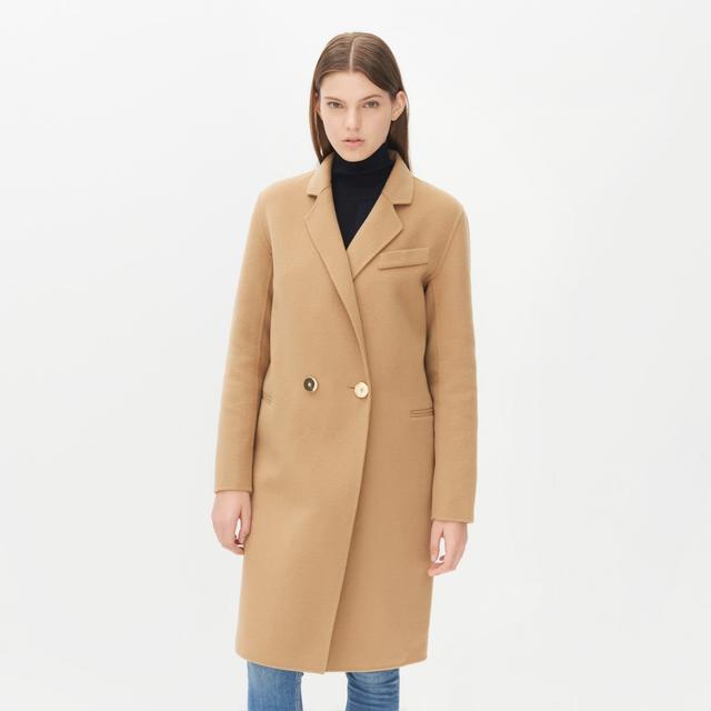 Sandro Melley Wool Blend Coat