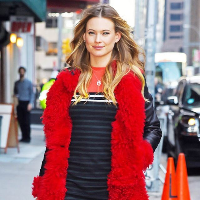 The Simple Trick Behati Prinsloo Uses to Master Edgy Style