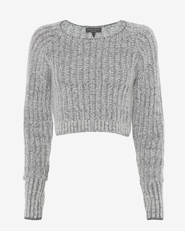 Rag & Bone Exclusive Makenna Crop Sweater