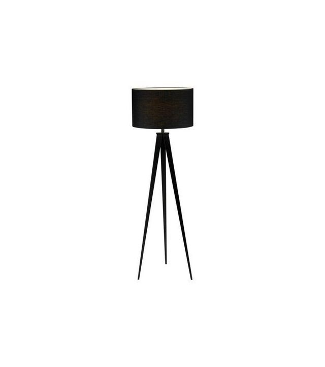 One Kings Lane Director's Tripod Floor Lamp