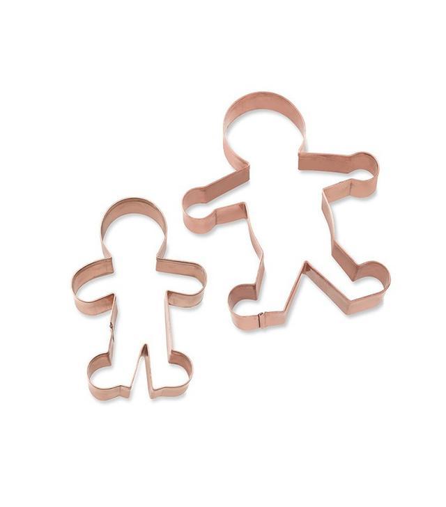 Williams-Sonoma Gingerbread Boy Copper Cookie Cutter