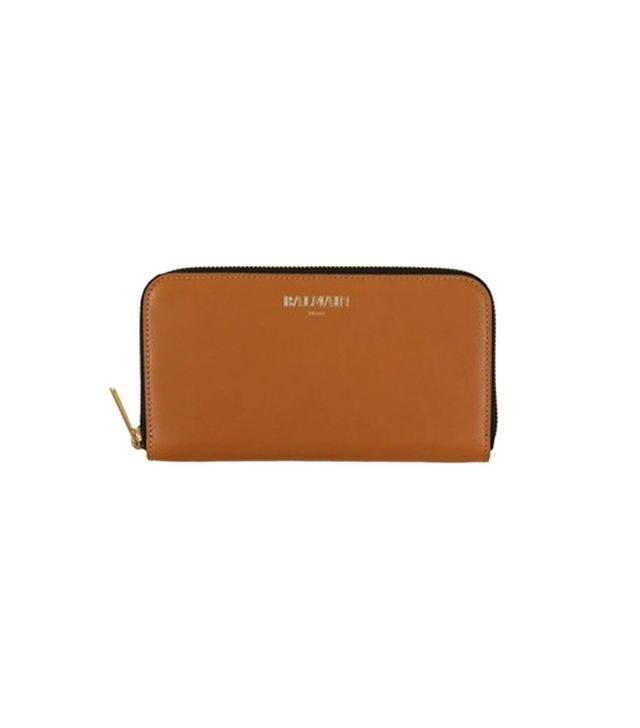 Balmain Smooth Leather Wallet