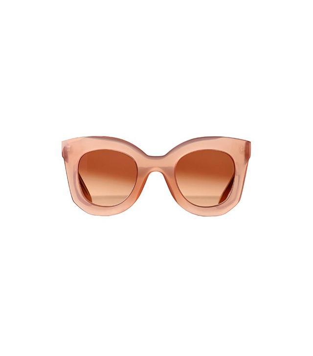 Céline Marta Sunglasses in Acetate Pink