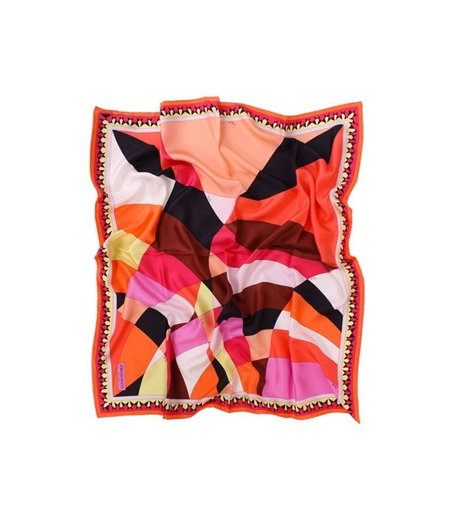 Emilio Pucci Fantasia Silk Scarf