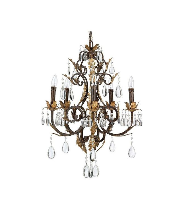 Kohl's 5-Light Antique Bronze Chandelier