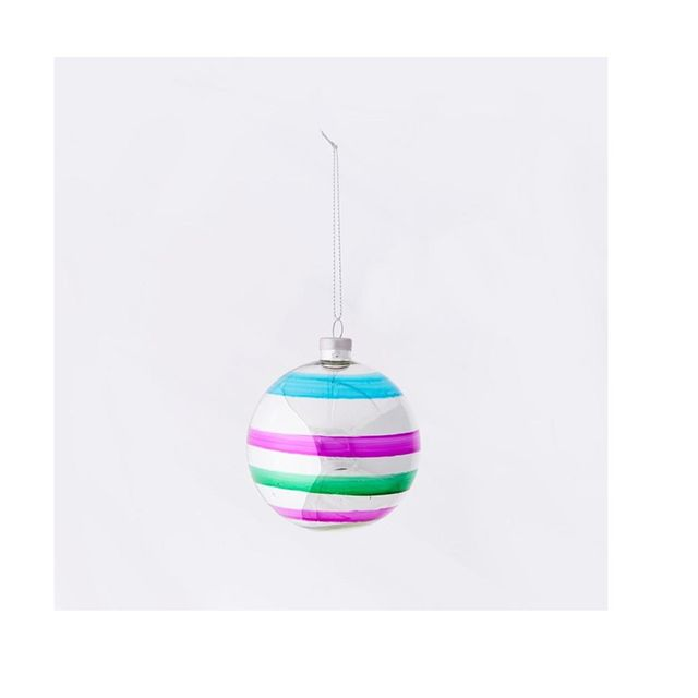 West Elm Multi Glass Ornaments (Set Of 6)