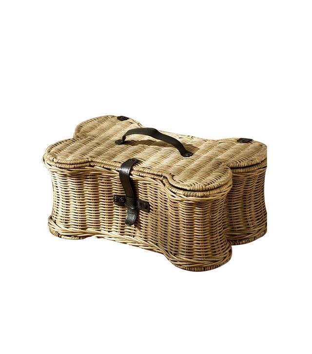 Pottery Barn Doggie Toy Basket